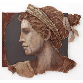 Loretta Tearney Warner, Grecian Woman, 67x73 in.