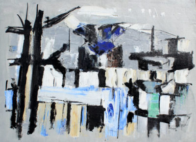 Arthur Pinajian, No. 382, Untitled. 24x33 inches. oil on canvas
