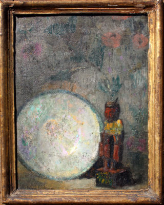 Hovsep Pushman, Le Petit, No. 91, 7x9 in, oil on canvas,