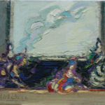 Robert Elibekian, Actresses, 7x9 in, oil on canvas board