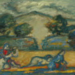 Robert Elibekian Spring 8x10 inches, oil on canvas board, - Copy