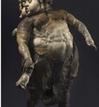 Emil Kazaz, Angel of Flower, 2009, 27x29x35 in., bronze