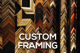 Stephanies Art Gallery Custom Framing