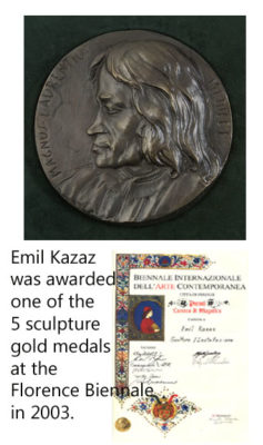 Emil Kazaz 's gold medals