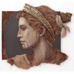 Loretta Tearney Warner, Grecian Woman, 67x73 in.
