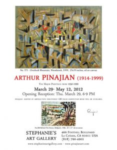 Exhibition for Arthur Pinajian
