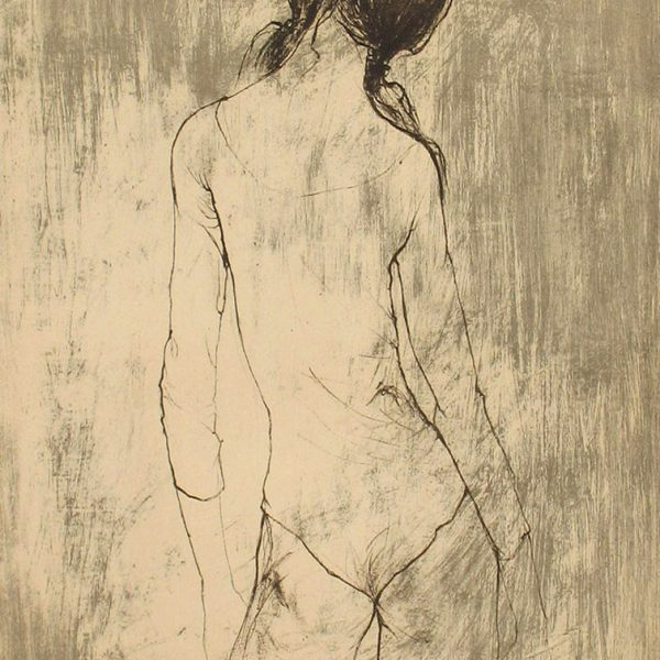 Jean Jansem, Ballerina, 30x22.5 inches, limited edition, sighned lower right and numbered