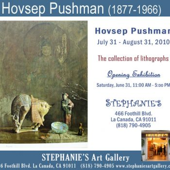 Hovsep Pushman, Exhibition