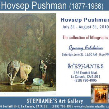 Hovsep Pushman, Exhibition