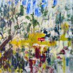 Arthur Pinajian, No. 45, 15x23 inches, oil on canvas