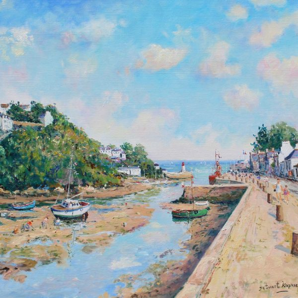 Yetvart Kaprielian, Bord de la sevre niortaise, 17.5x21 inches , oil on canvas