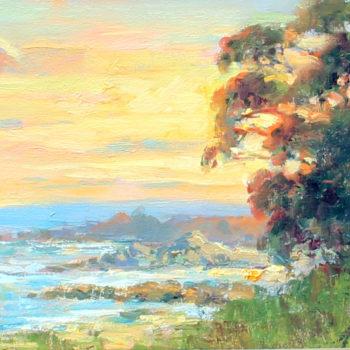 Lynn Gertenbach, Monastery Beach Sunset by Lynn Gertenbach