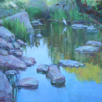 Lynn Gertenbach, Rock Pool at Malibu Creek,