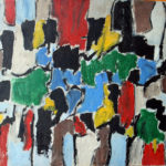 Arthur Pinajian, No.203 Untitled, 26x31.5-inches, oil on canvas