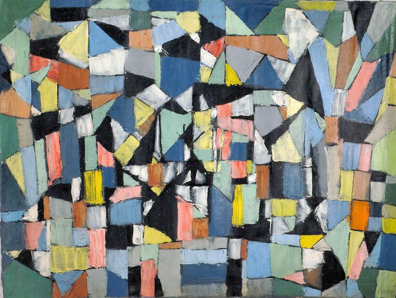 Arthur Pinajian, oil on canvas