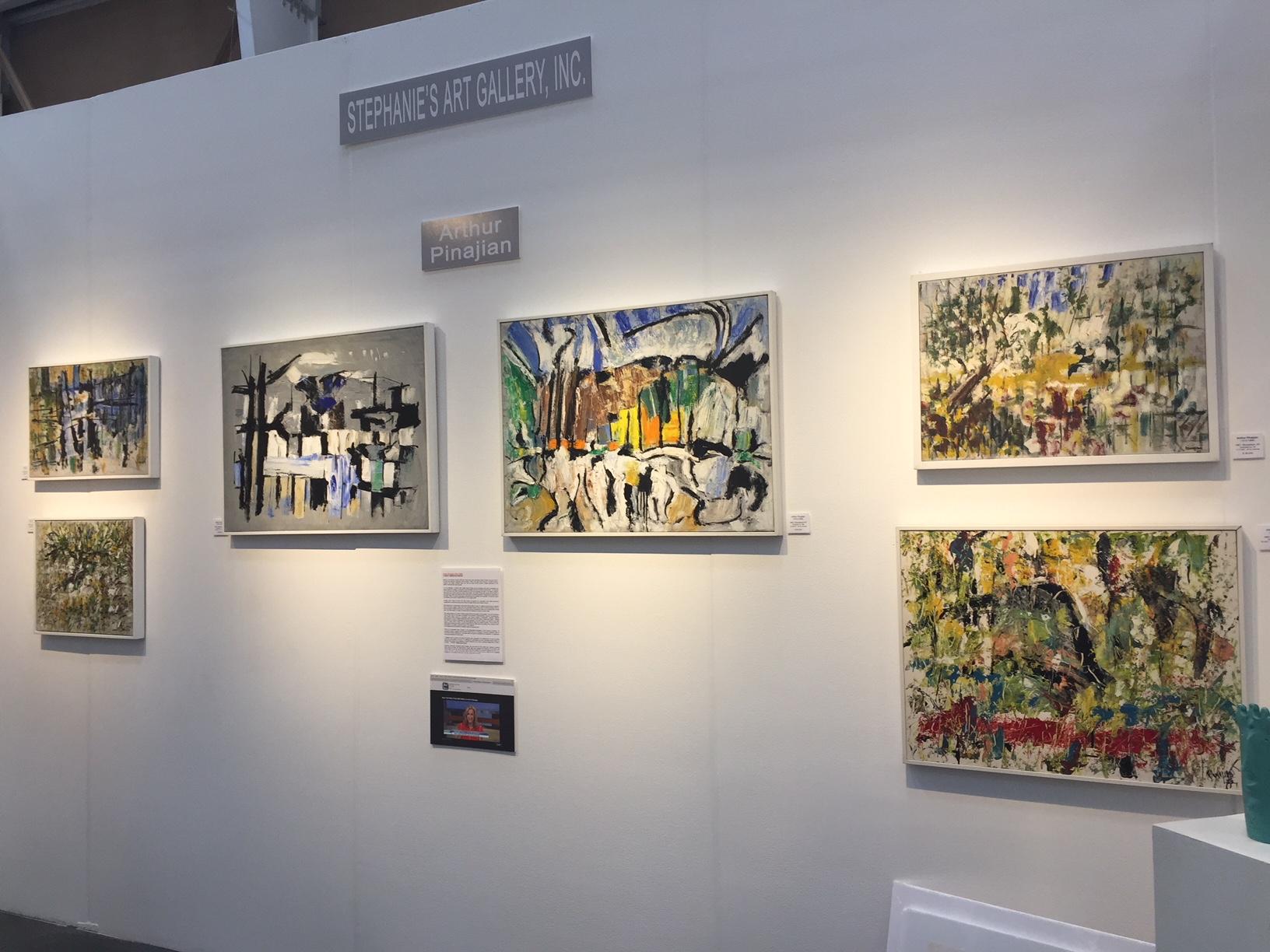 Stephanie's Gallery At San Diego 2017 Art Exhibition