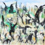 Arthur Pinajian, No, D153 , 16x12, oil on canvas, 1963