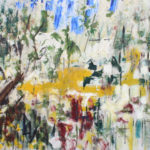 Arthur Pinajian, No. 45, 17x24, oil on canvas, 1967