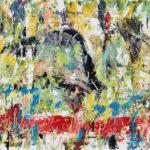 Arthur Pinajian, No. 704, untitled, 22x28 in. , oil on board 1983