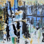 Arthur Pinajian, No. 315,Untitled, 16x24 inches , oil on canvas, Year 1960.