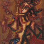 Robert Elibekian, Apparition, 8x10in., oil on canvas board