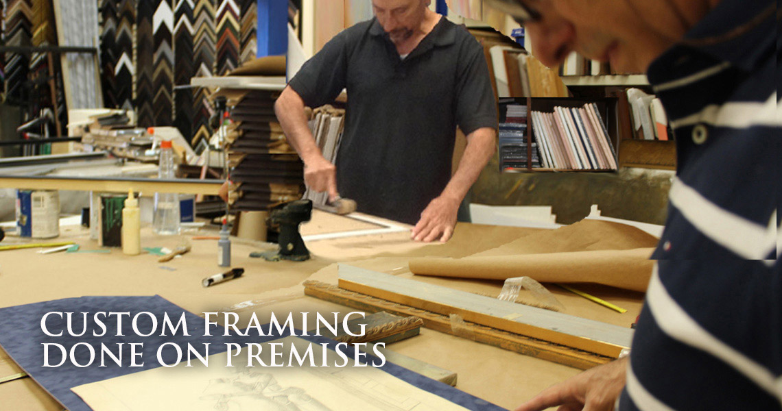 Stephanie's Gallery Custom Framing in Glendale, CA