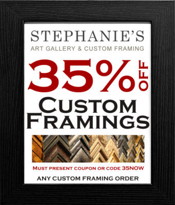 Custom Framing Coupon