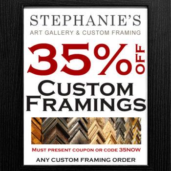 Custom Framing Coupon