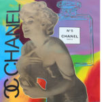 Steve Kaufman, 45x43 inches, silkscreen on canvas
