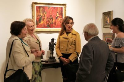 Robert Elibekian, opening reception