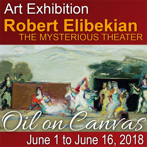 Robert Exlibekian art exhibition
