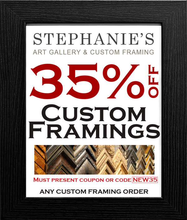 Stephanies Gallery coupon NEW35