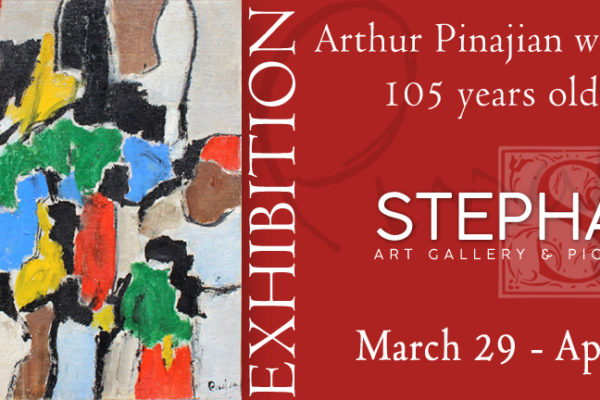 Arthur Pinajian's Exhibition