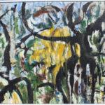 Arthur Pinajian , No. 414, oil on canvas, 24x27 in. 1964