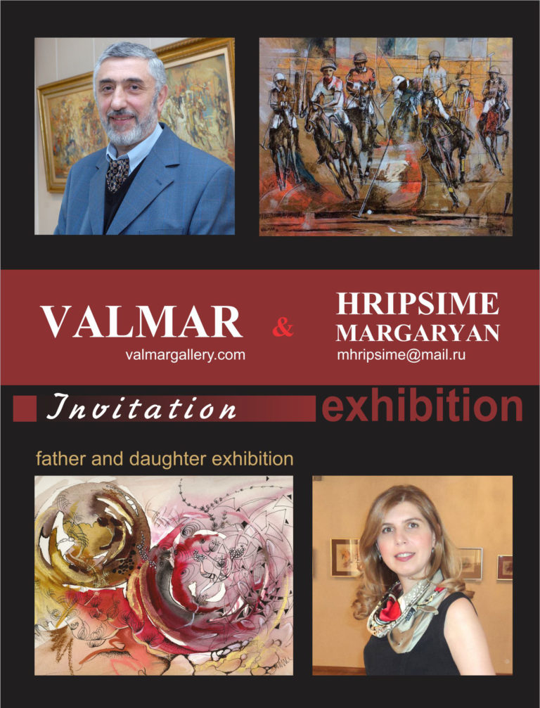 Valmar and Hripsime Art Exhibition